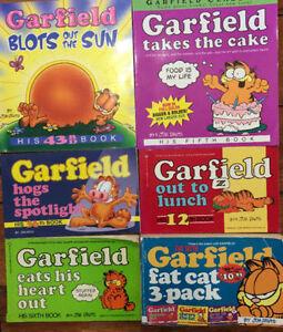 GARFIELD Comic Books - 6 for $20