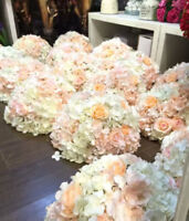 SILK flower wholesale rose wisteria peonies orchid from $1.99 ea