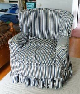 Armchair with cover