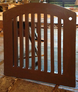 professionally built solid cedar gates