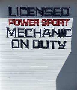 Licensed Mechanic on Duty @ East Coast Motorsports!