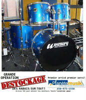 Opération *DESTOCKAGE* Batterie drum usagé WESTBURY & hardware