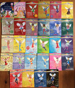 Large Collection of RAINBOW MAGIC fairy chapter books 30 for $30