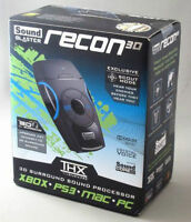 Recon3D Surround Sound Decode Ext Sound Card PC-PS4-XBOX-VR