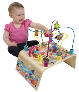 ALEX Jr. Busy Wooden Activity Table