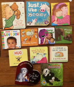 MOMMY & ME board books $3 each or all 12 for $20