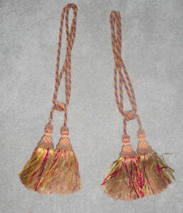 2 decorative tassels Kitchener / Waterloo Kitchener Area image 1