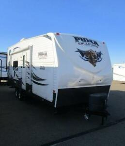 2014 PUMA  25 TFC TOY HAULER LARGE WITH OUTDOOR KITCHEN!!