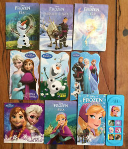DISNEY'S FROZEN Board Books $3 each or all 9 for $15