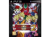 Dragonball Z Raging Blast 2 PS3 GAME