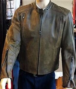 BRISTOL Leather Biker Jackets - Sandy's Saddlery & Western Wear
