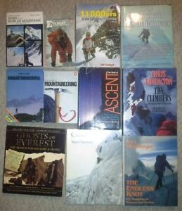 Alpine Mountaineering, Everest and Climbing Books