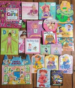 GREAT Board Books for a GIRL! $2 each or all 20 for $20