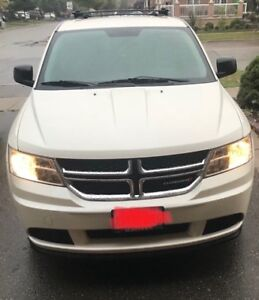 2015 Dodge Journey $16,300 obo.  SUV PEARL WHITE - one owner