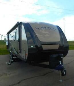 2017 LAYTON 280 QB -TRAVEL TRAILER - QUAD BUNKS