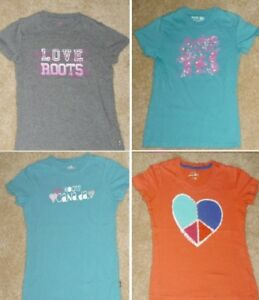 + Roots - Size 7/8 Short Sleeve Graphic Tops