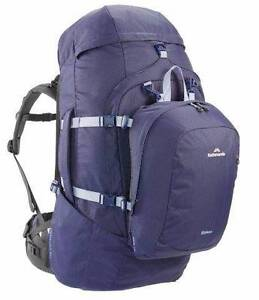 Kathmandu Entrada 65L Womens Hiking Backpack with daypack Fairfield Heights Fairfield Area Preview