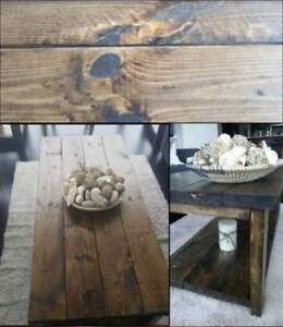 Hand_crafted rustic furniture