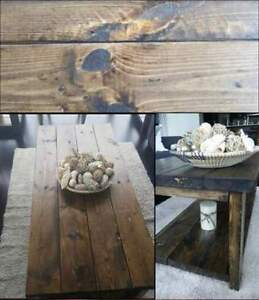 Hand-crafted rustic furniture