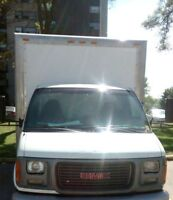 2002 GMC 16 Foot Cubevan with loading ramp