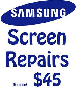 Samsung S3, S4, S5, s6 note 4 5 Screen Repair Starting $45