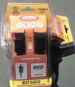 Long cable HDMI neuf 12 pieds