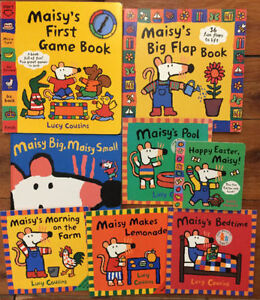 MAISY board books by LUCY COUSINS $3 each or all 8 for $15