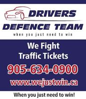 We Fight Traffic Tickets and Usually Win!