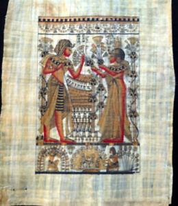 Handmade Egyptian Papyrus Painting Sarnia Sarnia Area image 3