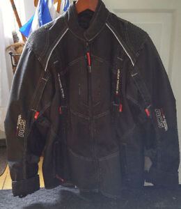 Motorcycle woman or man 3 season jacket