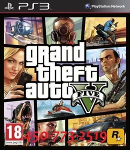 Grand theft auto V (Gta5) PS3