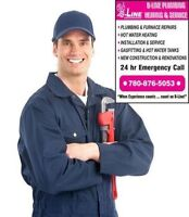 Call B-Line Plumbing 4 Installation of Natural Gas 780-876-5053