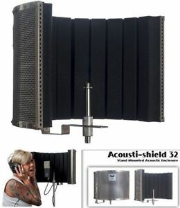 NEW CAD AUDIO ACOUSTIC SHIELD STAND MOUNTED ACOUSTIC ENCLOSURE