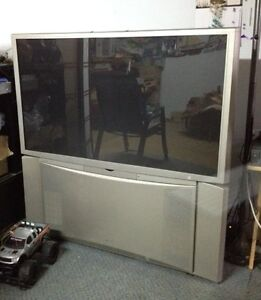 "FREE Hitachi 52"" Projection TV"