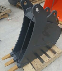 EXCAVATOR Buckets, Rakes, Hydraulic Tilt, Skeleton, Grapples Kawartha Lakes Peterborough Area image 5