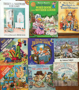 LITTLE MONSTER books & more by MERCER MAYER $3 each or all 9/$20