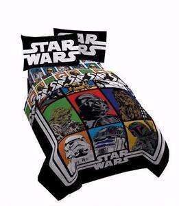 Star Wars Yoda and Darth Vader Single Twin Sheet 3 Pcs Set Offic