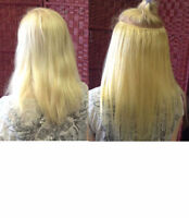 Hair Extension installation and blending