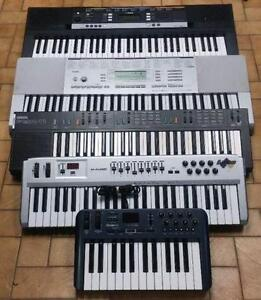 SUPER SÉLECTION DE CLAVIERS / PIANOS POUR PRODUCTION ! VENTE !