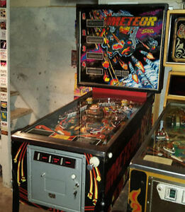 STERN METEOR PINBALL MACHINE FOR SALE London Ontario image 1
