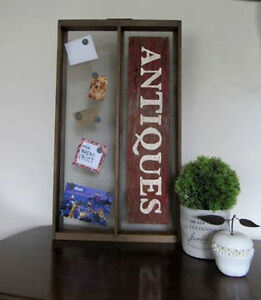 Rustic Message Board