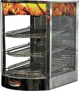 Commercial Heated Display Cases with FREE SHIPPING