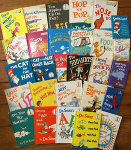 Collection of DR SEUSS BOOKS!!! 28 books for $100