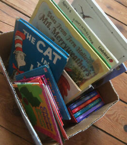 BOX OF CHILDREN'S PICTURE BOOK 45 books for $20