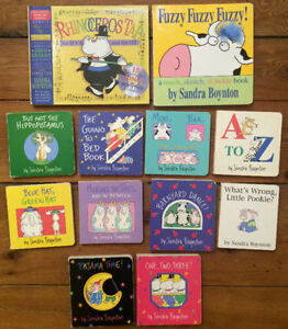 SANDRA BOYNTON Board Books $3 each or all 12 for $25