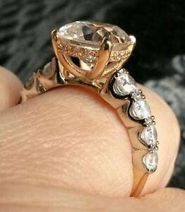 14k White & Yellow Gold Ring
