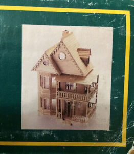 Build Your Own Dollhouse VICTORIAN STYLE COUNTY HOME $125 London Ontario image 3