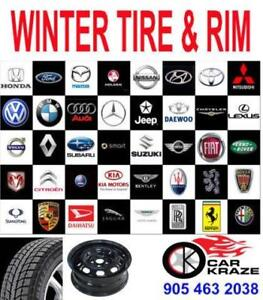New Winter Tires And Steel Rim Package For All Cars 905 463 2038 Car Kraze Brampton