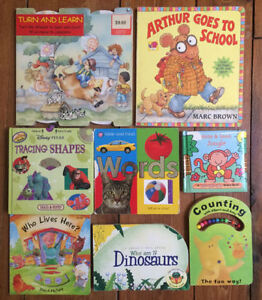 INTERACTIVE BOARD BOOKS $3 each or all 8 for $15