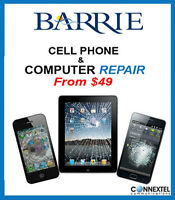 Cell phone repair from$49 apple iphone 4 4s 5 5s 5c 6 6+ instore